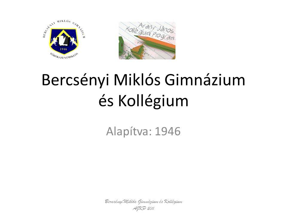 Bercsényi Miklós Gimnázium és Kollégium