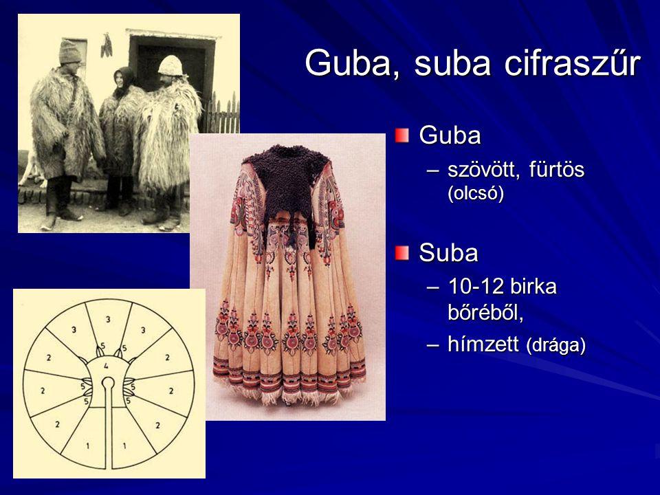Guba, suba cifraszűr Guba Suba szövött, fürtös (olcsó)