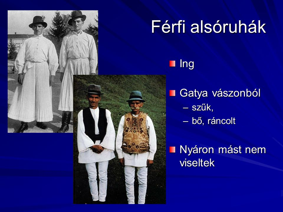 Férfi alsóruhák Ing Gatya vászonból Nyáron mást nem viseltek szűk,