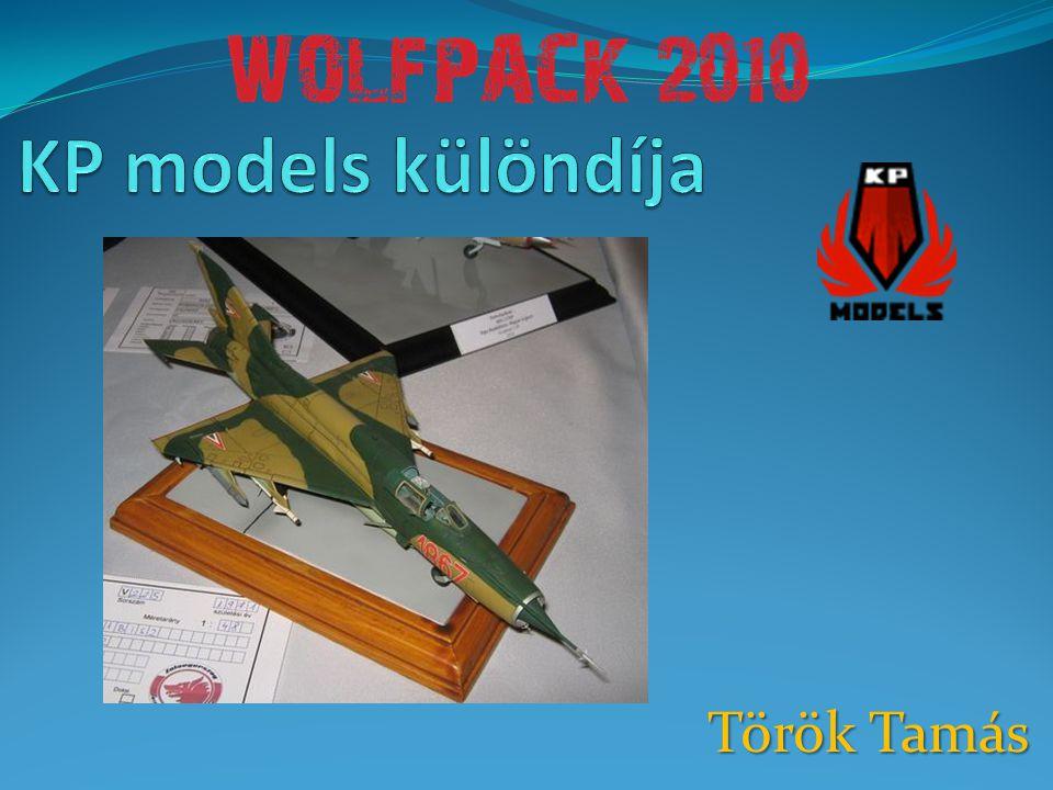 KP models különdíja Török Tamás