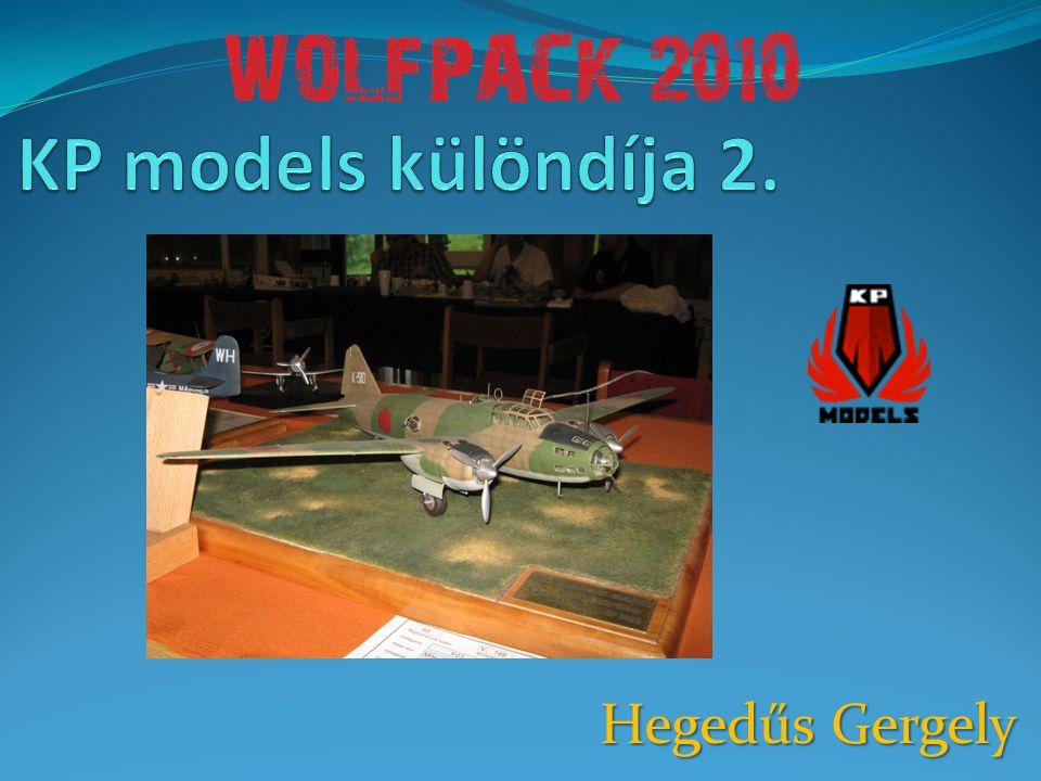 KP models különdíja 2. Hegedűs Gergely