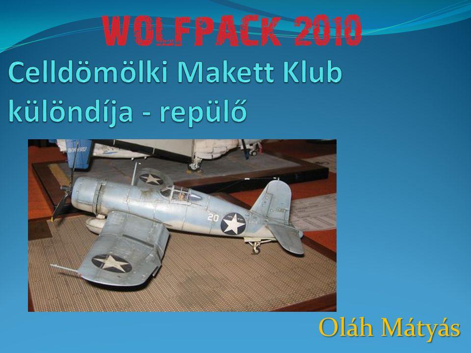 Celldömölki Makett Klub különdíja - repülő