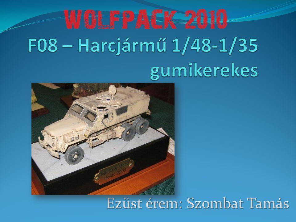 F08 – Harcjármű 1/48-1/35 gumikerekes