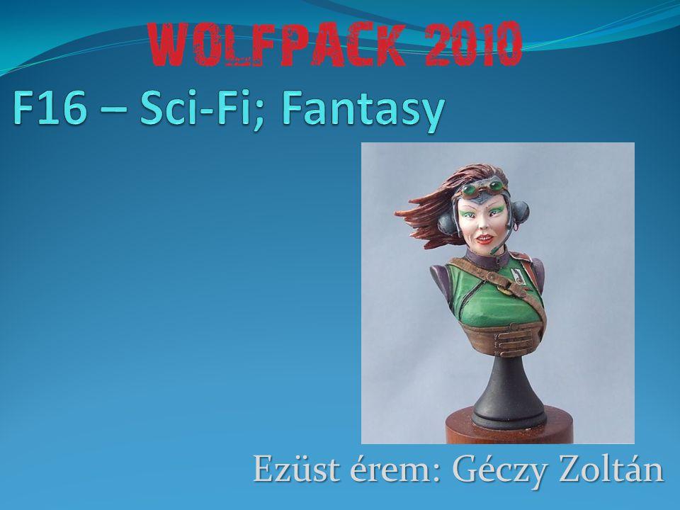 Ezüst érem: Géczy Zoltán