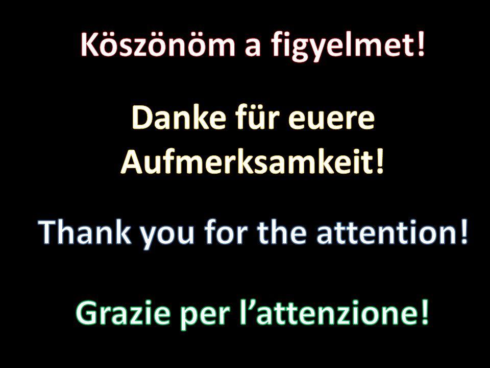 Danke für euere Aufmerksamkeit!