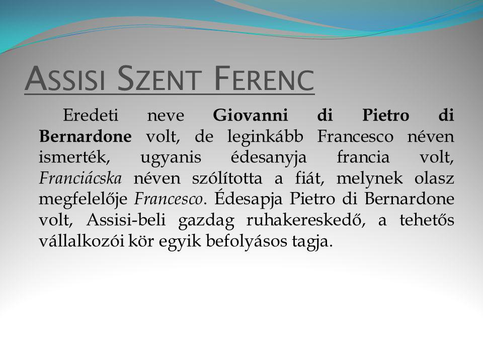 Assisi Szent Ferenc