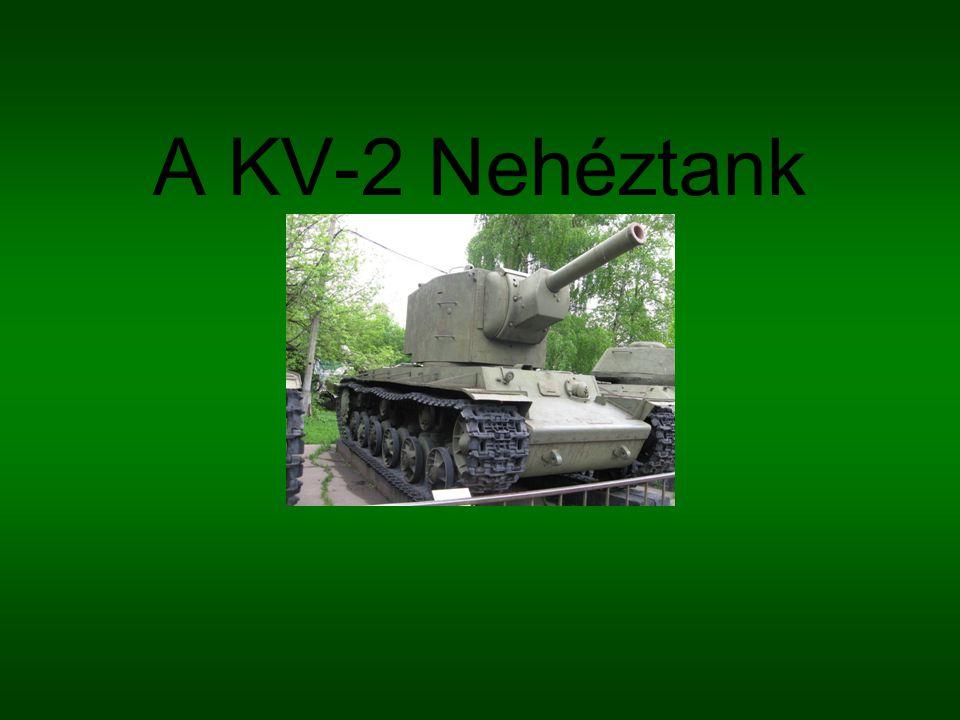 A KV-2 Nehéztank