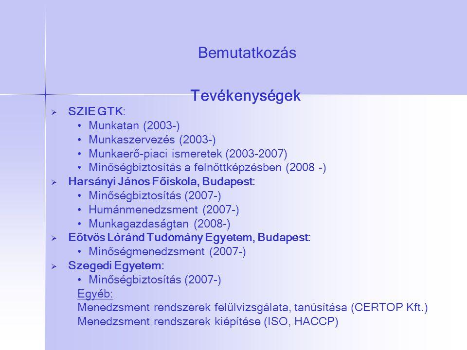 Gazdálkodás és Szervezéstudományok Doktori Iskola