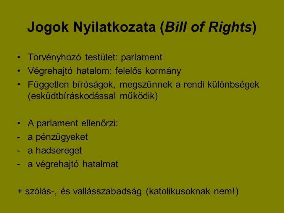 Jogok Nyilatkozata (Bill of Rights)