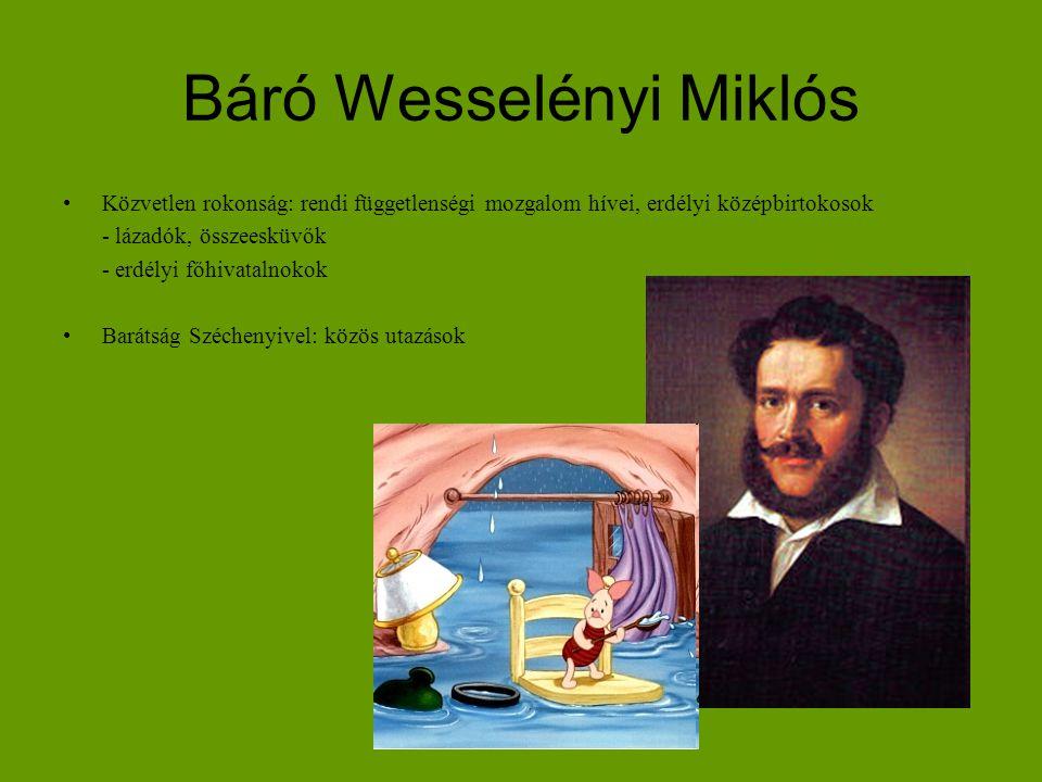 Báró Wesselényi Miklós
