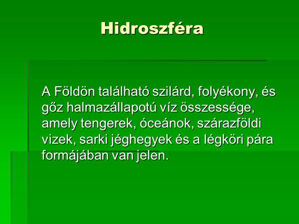 Hidroszféra