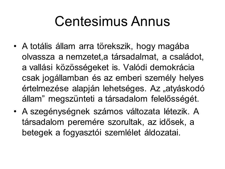 Centesimus Annus
