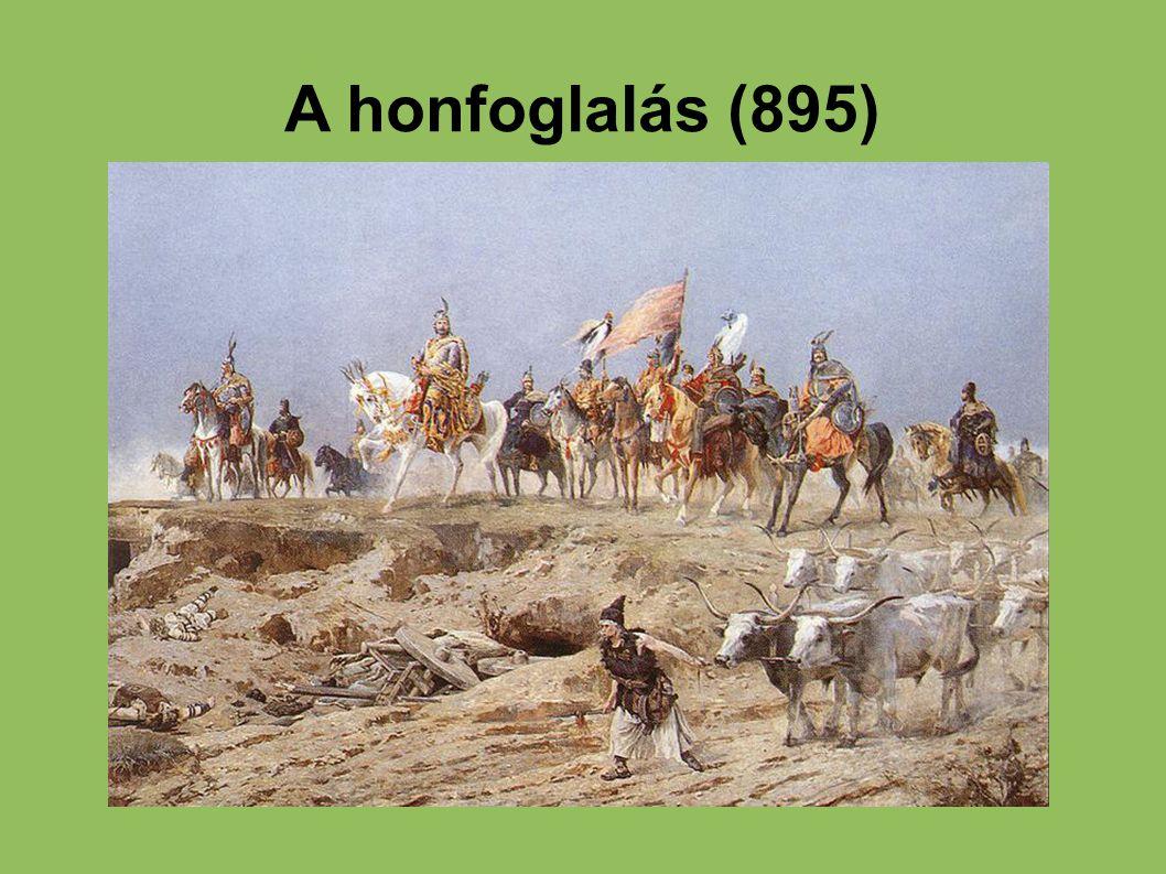 A honfoglalás (895) 12