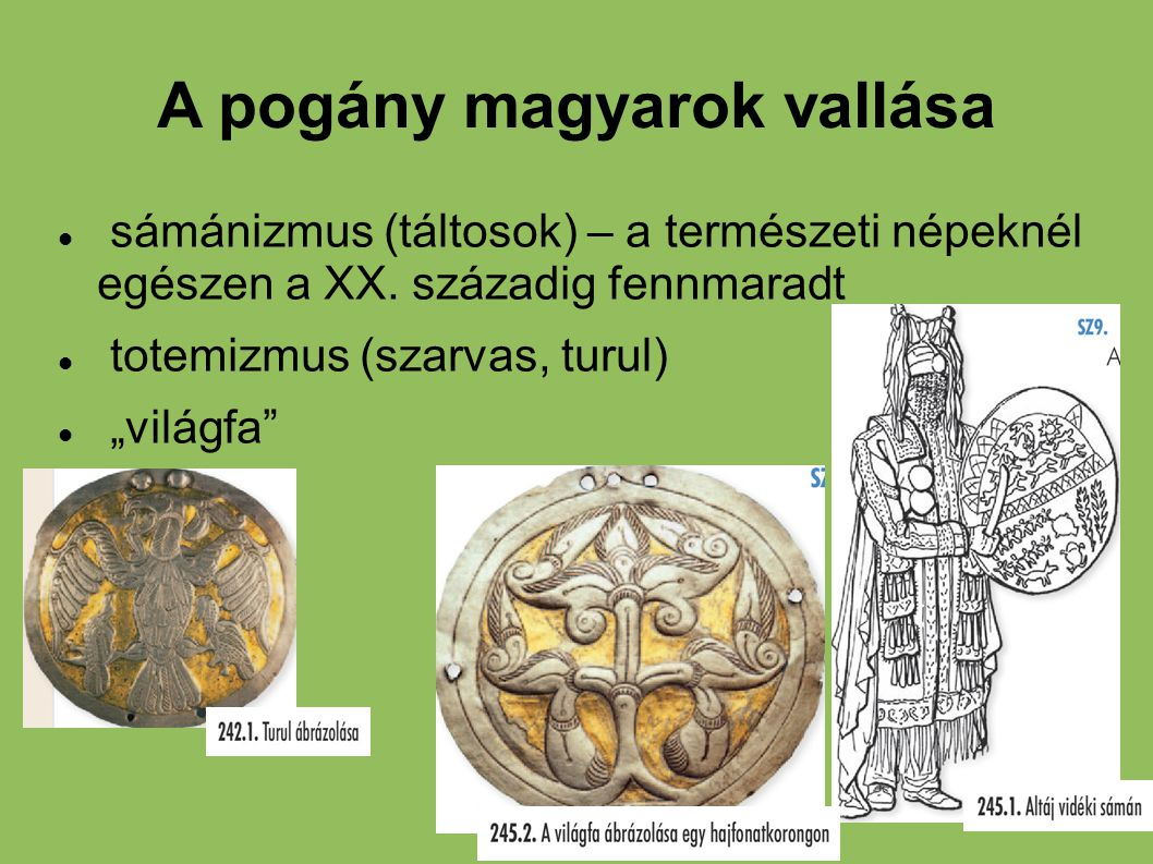 A pogány magyarok vallása