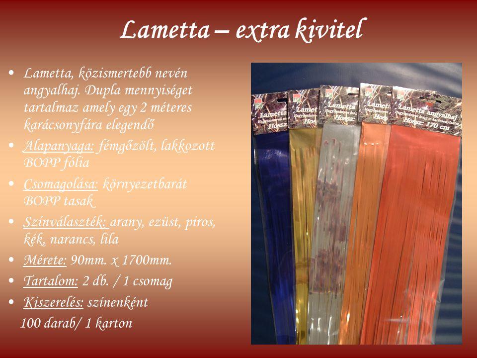 Lametta – extra kivitel