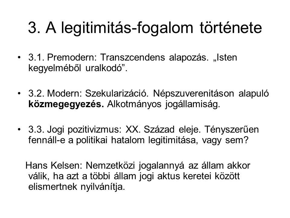 3. A legitimitás-fogalom története