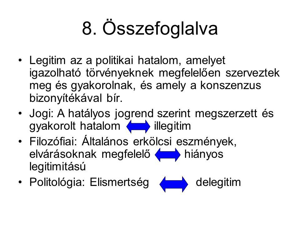 8. Összefoglalva
