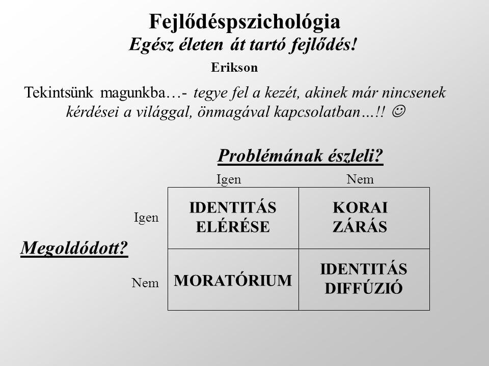 Fejlődéspszichológia