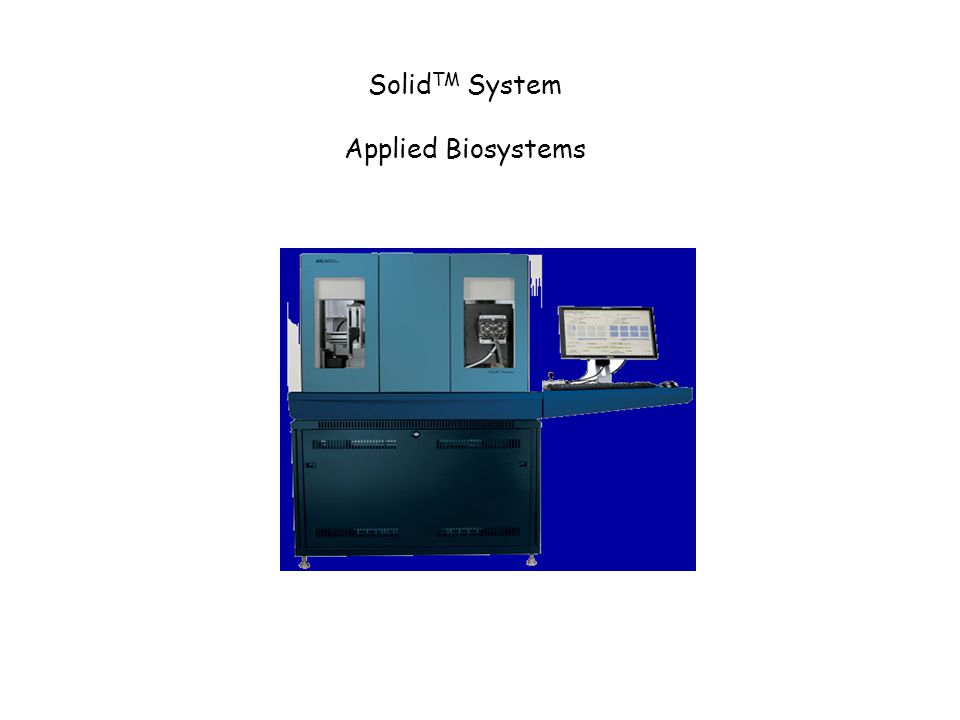 SolidTM System Applied Biosystems