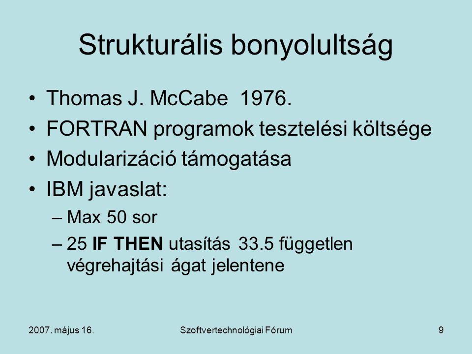 Strukturális bonyolultság
