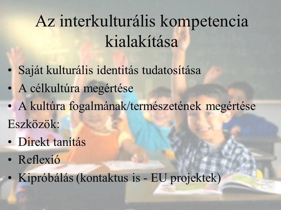 Az interkulturális kompetencia kialakítása