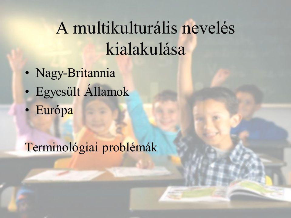 A multikulturális nevelés kialakulása