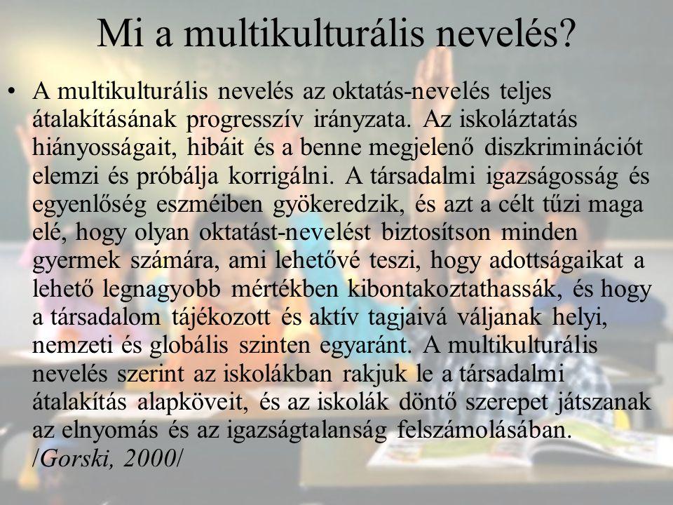 Mi a multikulturális nevelés
