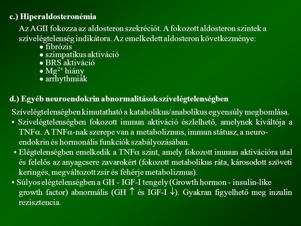 c.) Hiperaldosteronémia