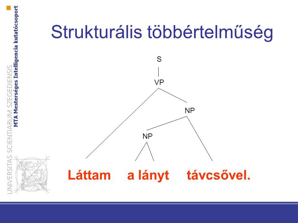 Strukturális többértelműség