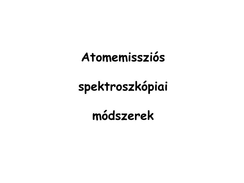 Atomemissziós spektroszkópiai módszerek