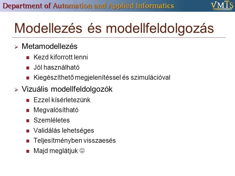 Modellezés és modellfeldolgozás