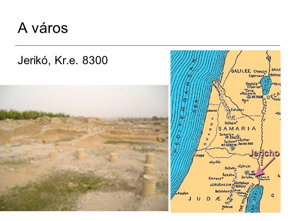 A város Jerikó, Kr.e. 8300
