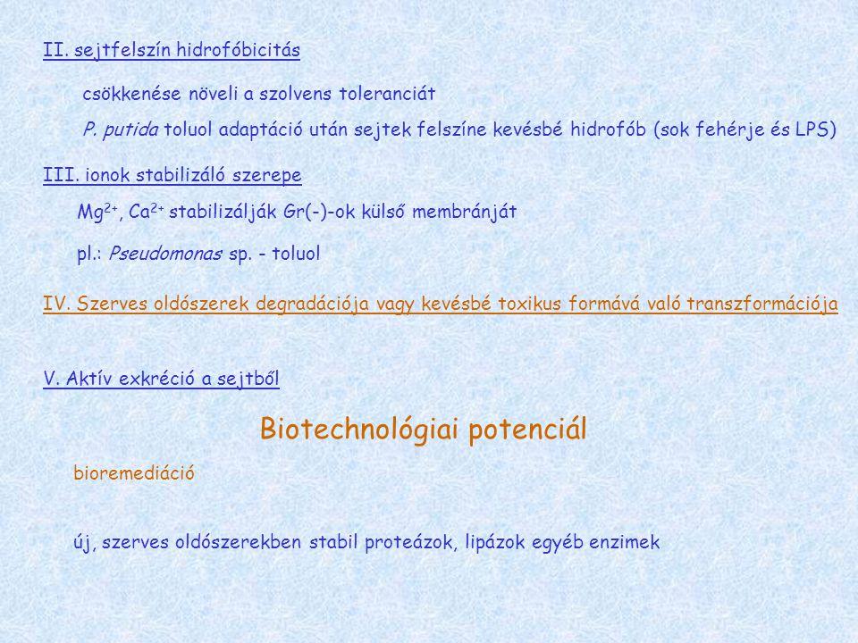 Biotechnológiai potenciál