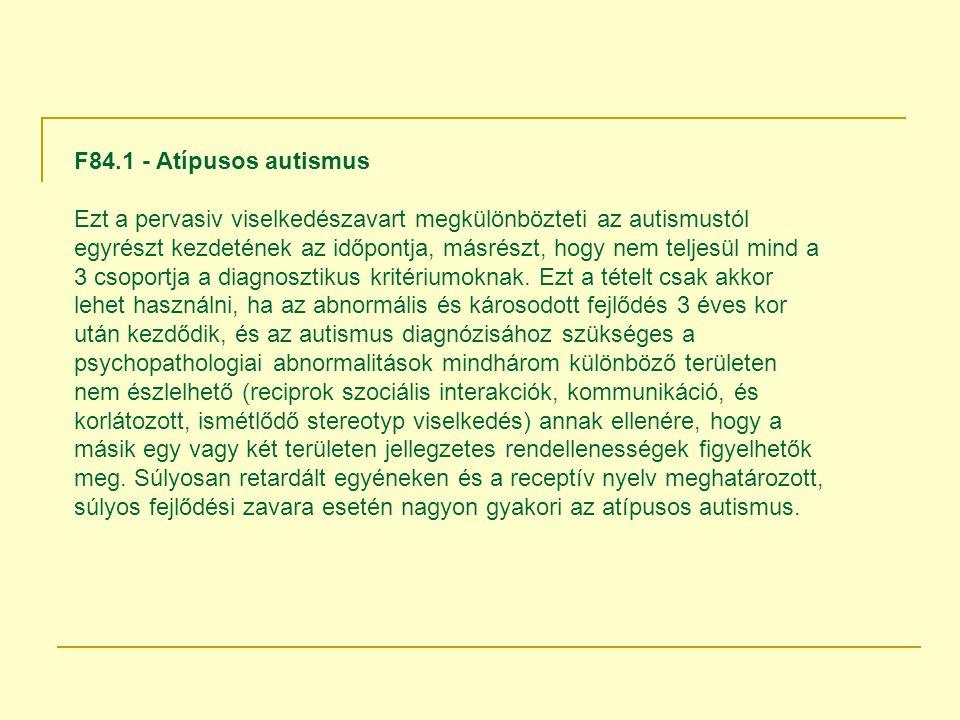 F84.1 - Atípusos autismus
