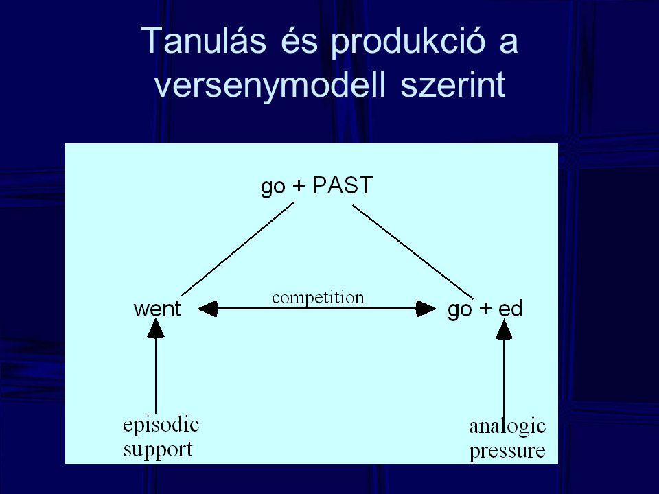 Tanulás és produkció a versenymodell szerint