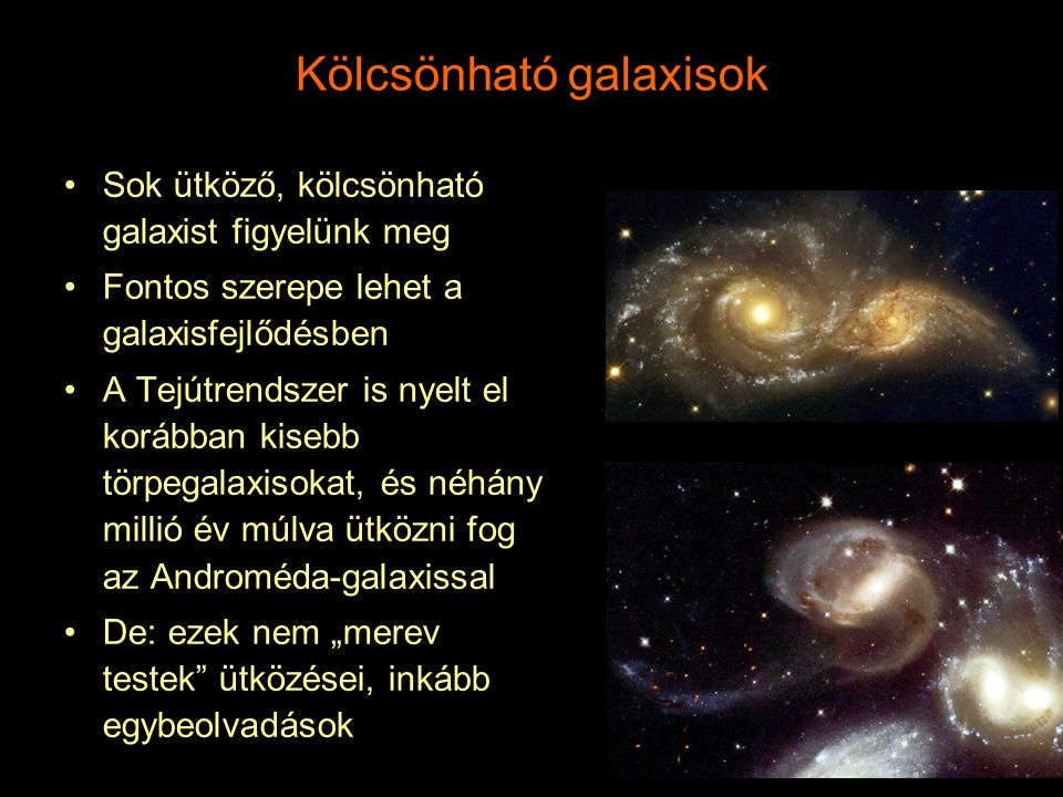 Kölcsönható galaxisok