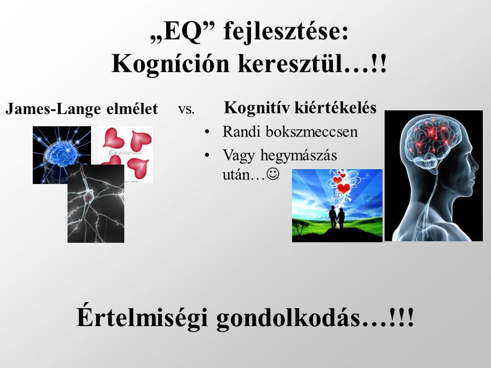 """""""EQ fejlesztése: Kogníción keresztül…!!"""
