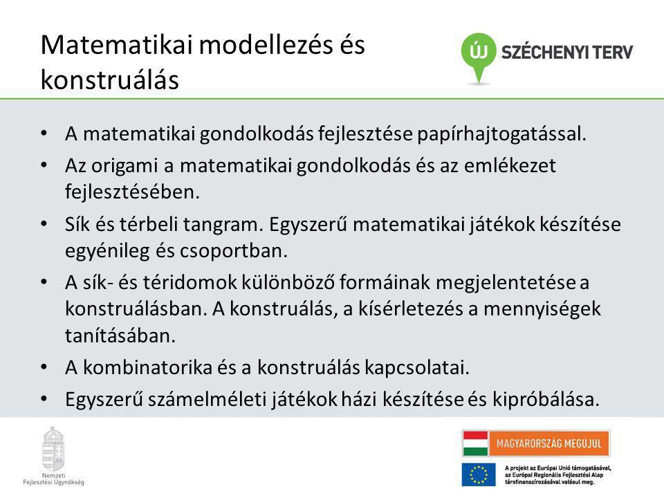 Matematikai modellezés és konstruálás