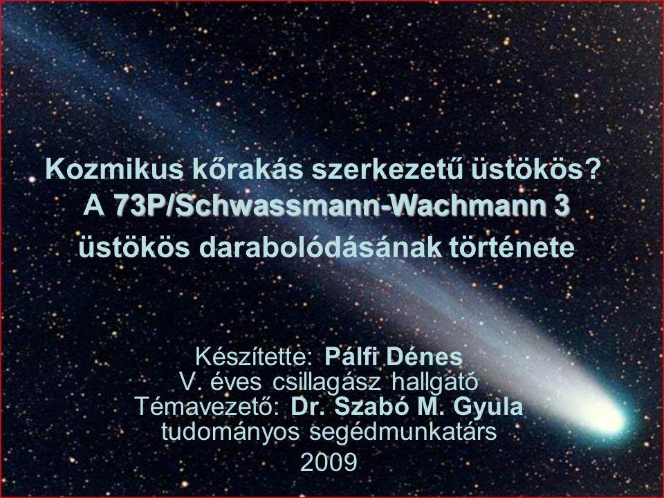 Kozmikus kőrakás szerkezetű üstökös