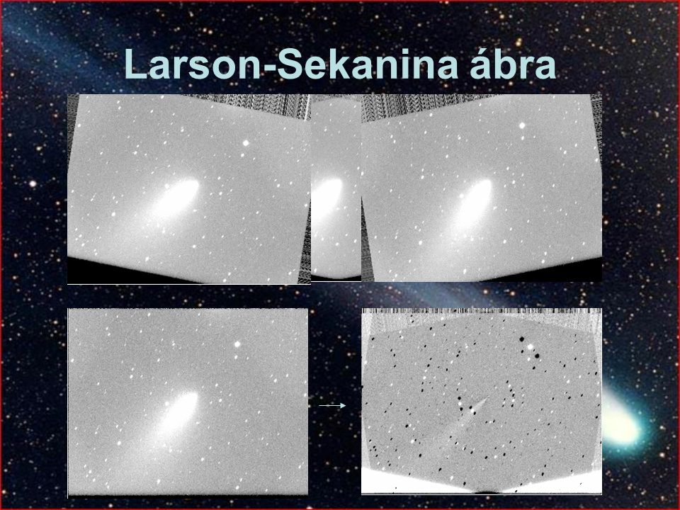 Larson-Sekanina ábra