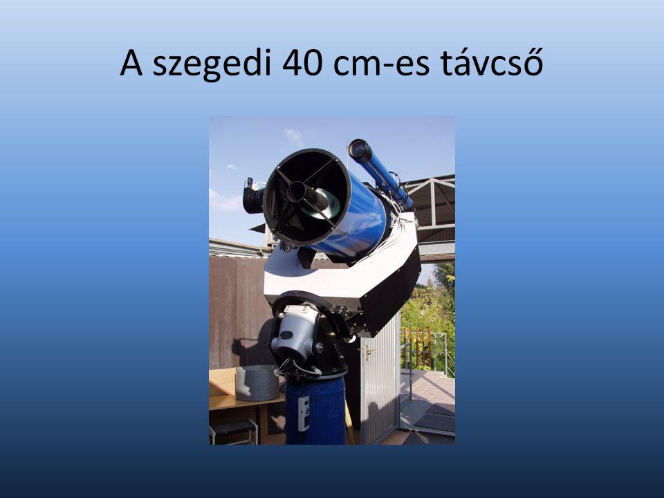 A szegedi 40 cm-es távcső