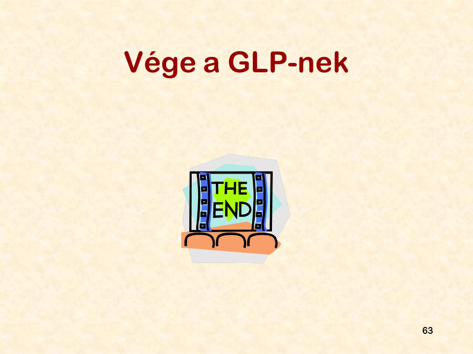 Vége a GLP-nek