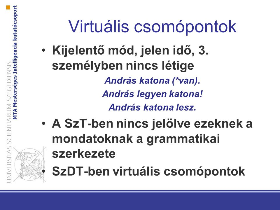 Virtuális csomópontok