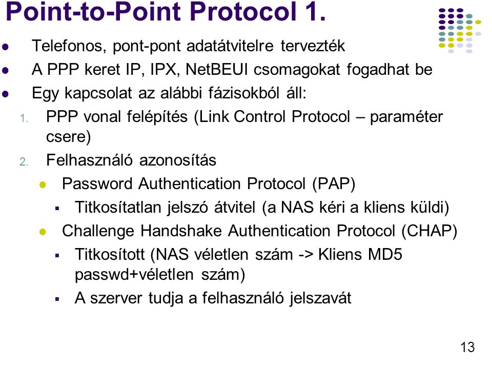Point-to-Point Protocol 1.