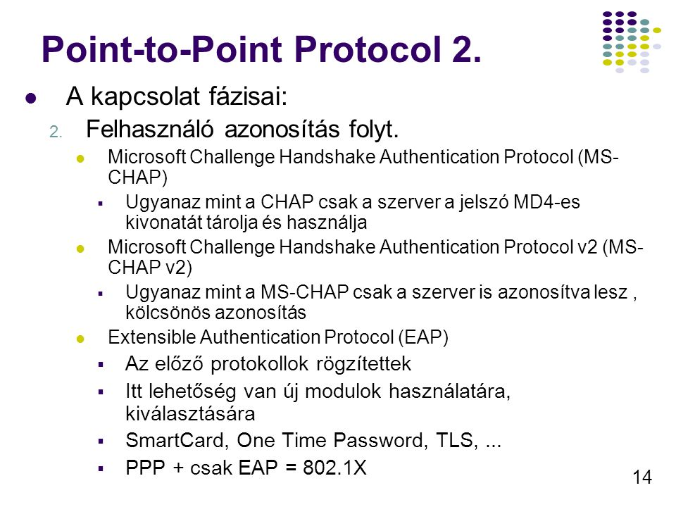Point-to-Point Protocol 2.