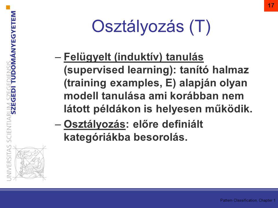 17 Osztályozás (T)