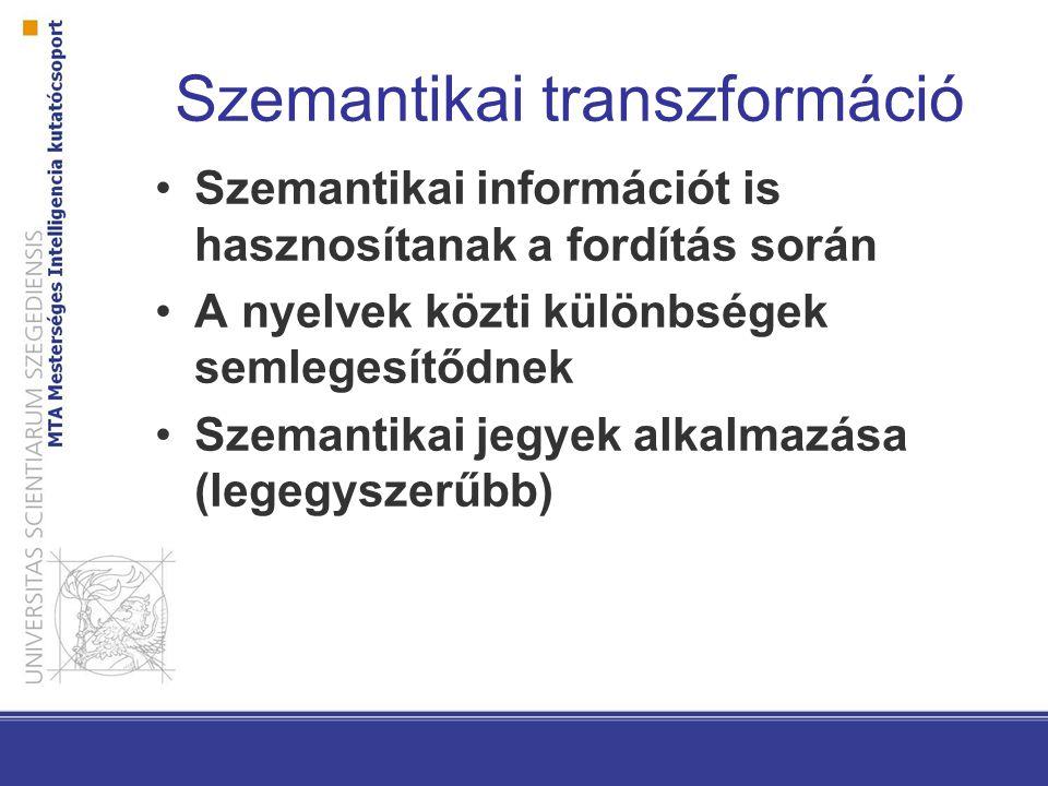 Szemantikai transzformáció
