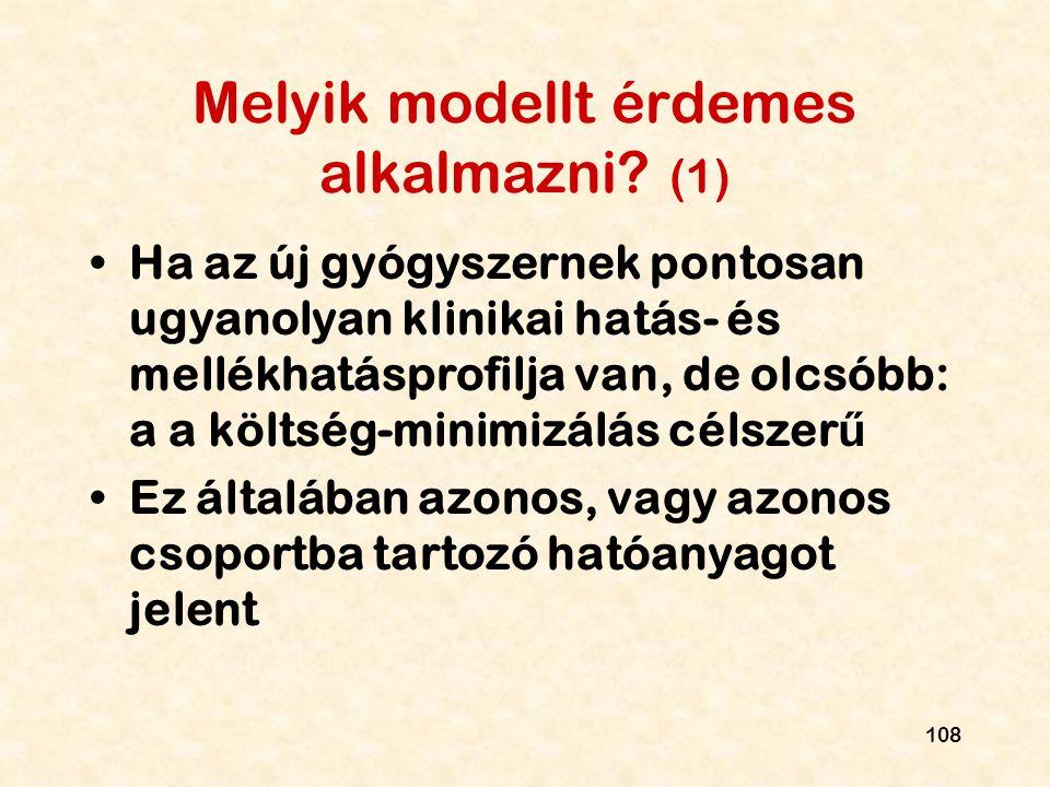 Melyik modellt érdemes alkalmazni (1)