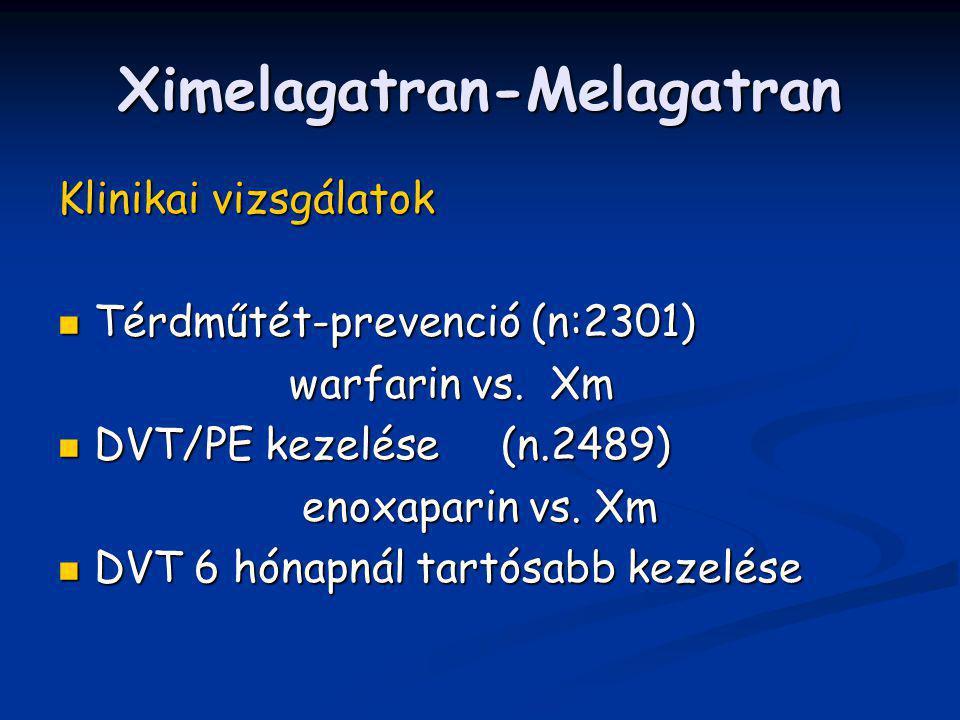 Ximelagatran-Melagatran