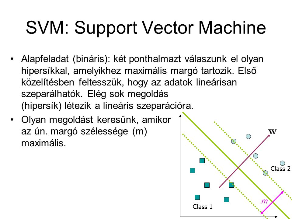 SVM: Support Vector Machine